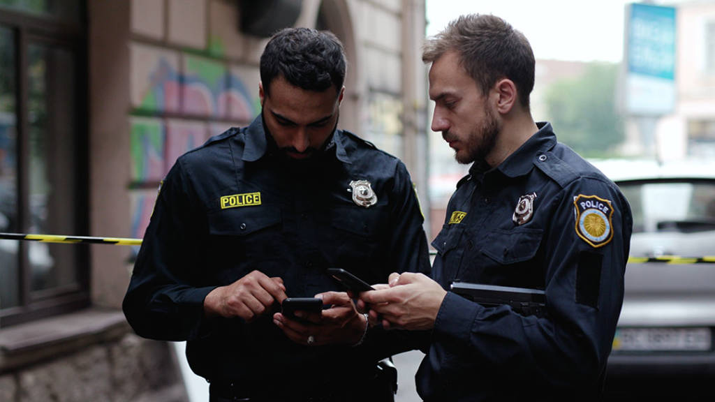 Police on Smartphones